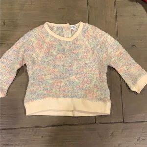 Splendid Rainbow Knit Sweater